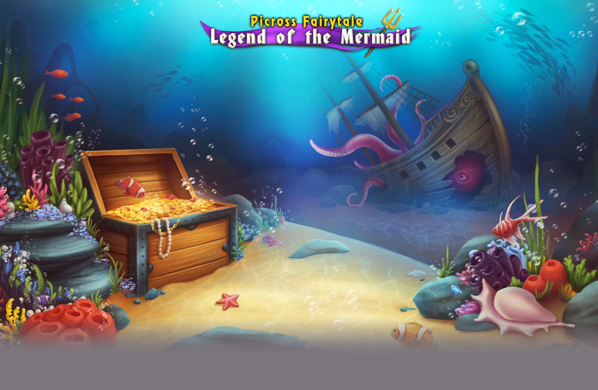Picrosss Fairytale Legend of the Mermaid