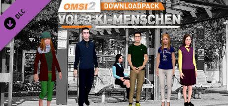 OMSI 2 Downloadpack Vol. 3 – KI-Menschen (DLC)
