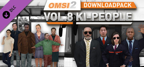 OMSI 2 Downloadpack Vol. 8 – KI-Menschen (DLC)