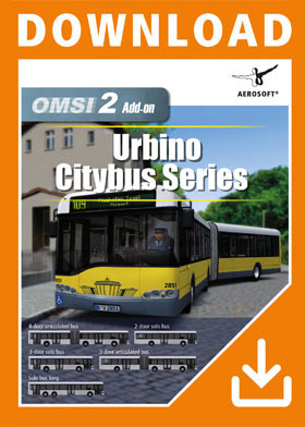 OMSI 2 Add-On Urbino Stadtbusfamilie (DLC)