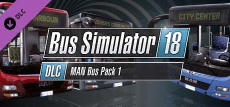 Bus Simulator 18 MAN Bus Pack 1 (DLC)