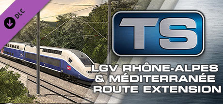 Train Simulator: LGV Rhône-Alpes & Méditerranée Route Extension Add-On (DLC)