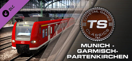 Train Simulator: Munich - Garmisch-Partenkirchen Route (DLC)