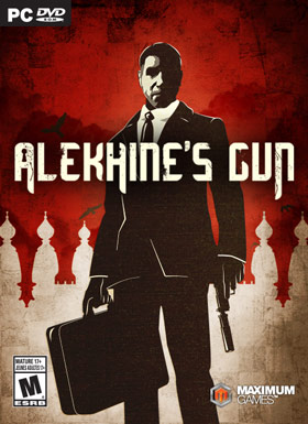 Alekhine's Gun is a third-person stealth game set in the 1960s Cold War era featuring choice-based gameplay, open levels, multiple stealth techniques and weapons, and an intriguing storyline with film-noir elements.