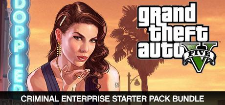 Grand Theft Auto V and Criminal Enterprise Starter Pack Bundle