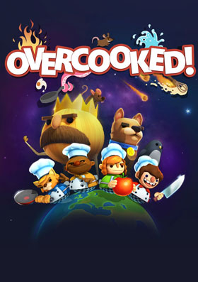 Overcooked is a chaotic couch co-op cooking game for one to four players.