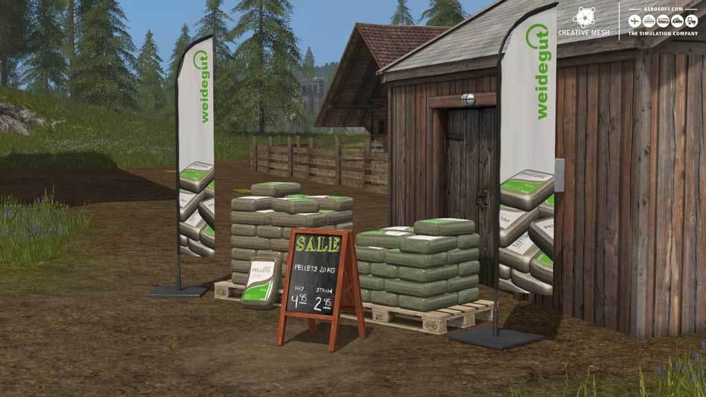 Farming Simulator 17 - Add-On Straw Harvest (DLC) | GAMESLOAD