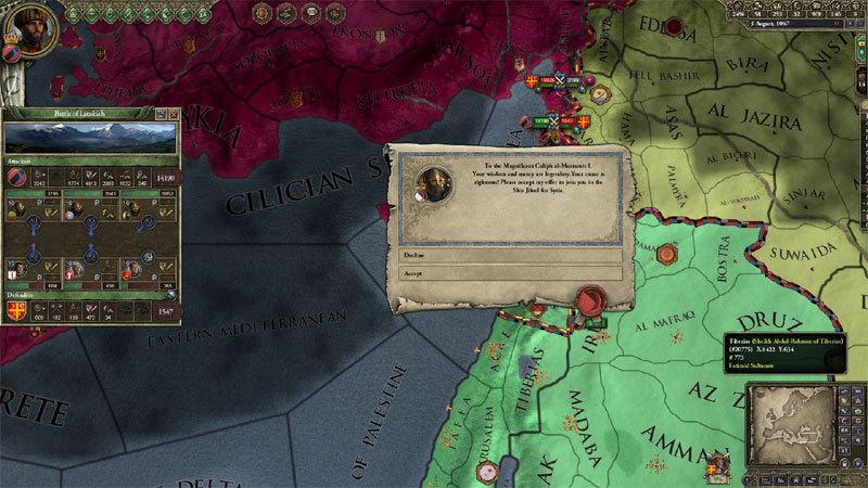 Crusader Kings II: Sword of Islam - DLC | GAMESLOAD